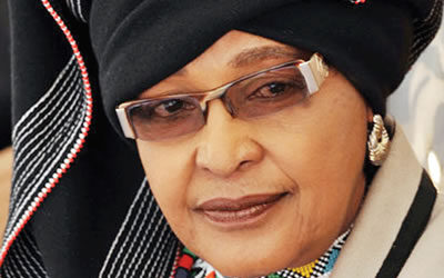 MAMA WINNIE MADIZIKIZELA MANDELA. THE MOTHER OF THE NATION