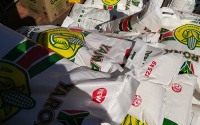 280 food parcels donated
