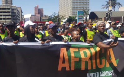 PEOPLE MARCH AGAINST XENOPHOBIA
