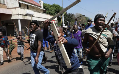 WE ARE A TARGET': WAVE OF XENOPHOBIC ATTACKS SWEEPS JOHANNESBURG