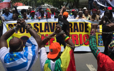 March Against Slave Trade and Human Trafficking in Libya