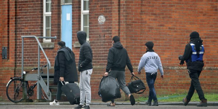 'Shocking' conditions in military barracks housing asylum seekers are unacceptable and must be urgently closed