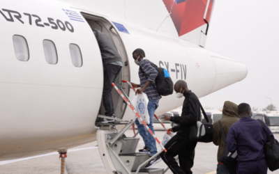 Groups of migrants relocated to France, Luxembourg and Portugal